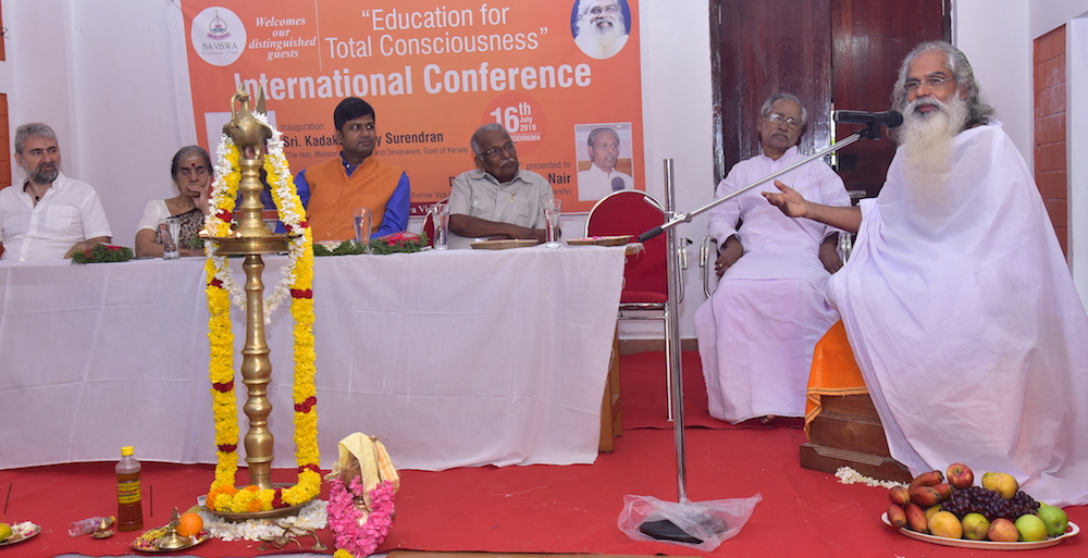 Swami Isa spoke on the Education for Total Consciousness method