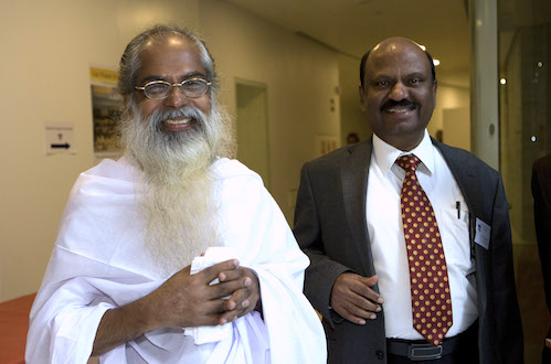 Swami Isa and Ananda Bose