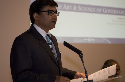 His Excellency the Ambassador of India to Spain, Vikram Misri