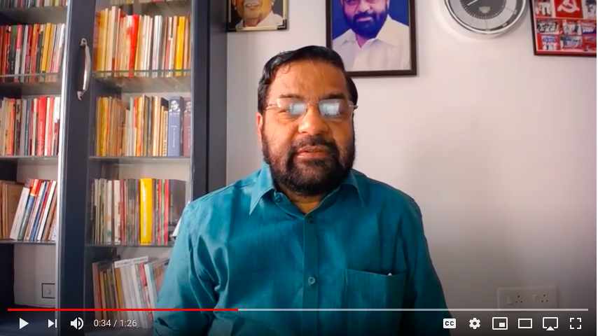 Kadakampally Surendran video message