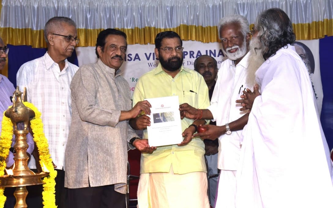 Minister receives Remoulding Kerala State Model proposal